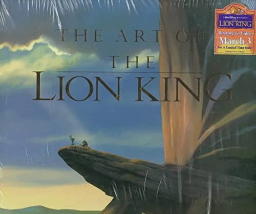 9780786860289: The Art of The Lion King