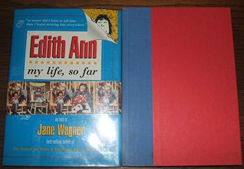 9780786861200: My Life, So Far: By Edith Ann