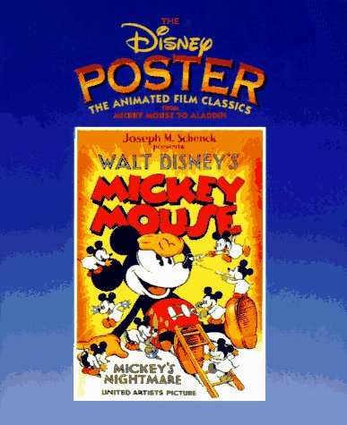 9780786861859: The Disney Poster: The Animated Film Classics from Mickey Mouse to Aladdin (Disney Miniature Series)