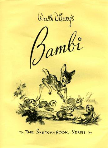9780786863020: Walt Disney's Bambi: The Sketchbook Series