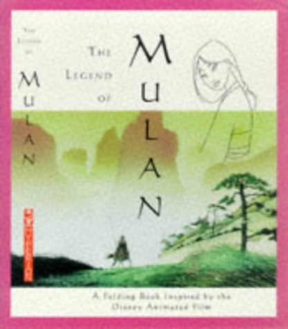 9780786863891: The Legend of Mulan: A Folding Book Inspired by the Disney Animated Film