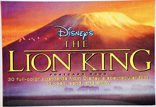 The Lion King: A Postcard Book: Disney Book Group; Walt Disney Feature Animation Department