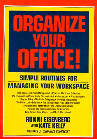 9780786880379: Organize Your Office!: Simple Routines for Managing Your Workspace