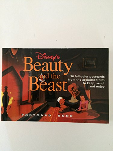 9780786880638: Beauty and the Beast Postcard