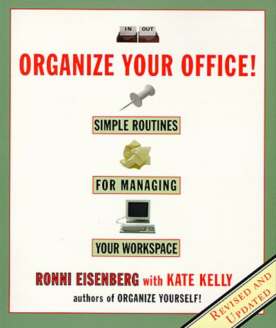 9780786883813: Organize Your Office: Revised Routines for Managing Your Workspace: Simple Routines for Managing Your Workspace