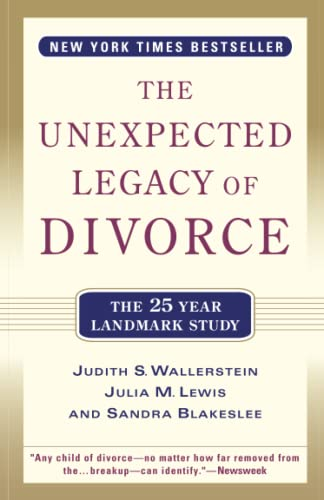9780786886166: The Unexpected Legacy of Divorce: The 25 Year Landmark Study