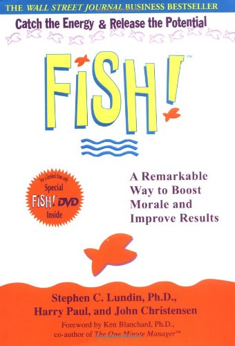 9780786888825: Fish! A Remarkable Way to Boost Morale and Improve Results (Book & DVD)