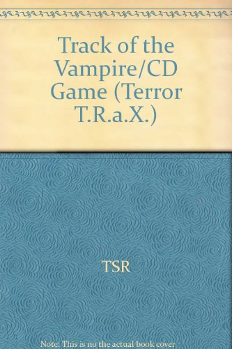 9780786900527: Track of the Vampire/CD Game (Terror T.R.A.X.)