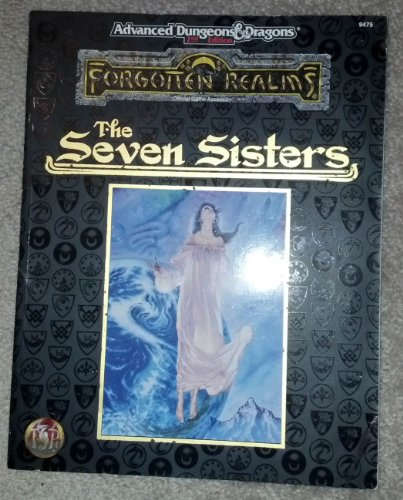 The Seven Sisters (Advanced Dungeons & Dragons, Forgotten Realms): Greenwood, Ed