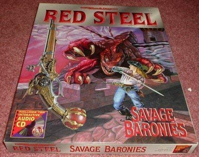 Red Steel - Savage Baronies (Advanced Dungeons & Dragons (2nd Edition) - Box Sets): Tim Beach