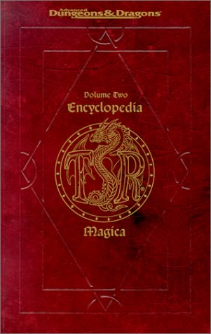 Advanced Dungeons and Dragons. Encyclopedia Magica. Volume Two. Decoy Dust to Phylactery of Riteo...