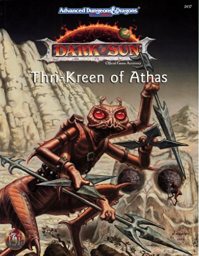 9780786901258: Thri-kreen of Athas (Advanced Dungeons & Dragons, 2nd Edition : Dark Sun)