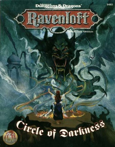 9780786901289: Circle of Darkness (AD&D Roleplaying, Ravenloft Adventure)