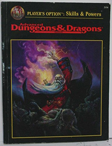 9780786901494: Player's Option: Skills & Powers (Advanced Dungeons & Dragons Rulebook)