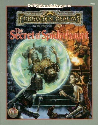 The Secret of Spiderhaunt (AD&D/Forgotten Realms Adventure): Butler, Jim