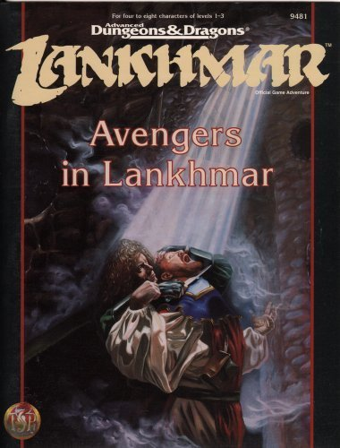 9780786901609: Avengers in Lankhmar (Advanced Dungeons & Dragons Adventure)