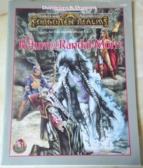 9780786901708: The Return of Randal Morn (AD&D Fantasy Roleplaying, Forgotten Realms)