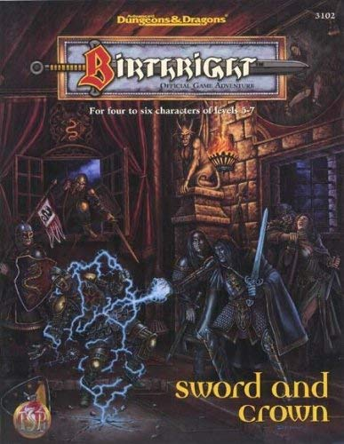Sword and Crown (Birthright, 3102) (0786901764) by Colin McComb