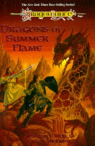 Dragons Of Summer Flame : **Signed**: Weis, Margaret: Hickman, Tracy
