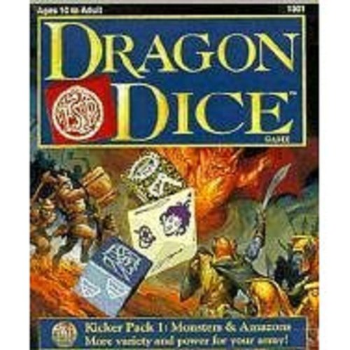 Dragon Dice Game: Kicker Pack 1 : Monsters and Amazons (Hit Dice Collectible Game Supplement , No 1...