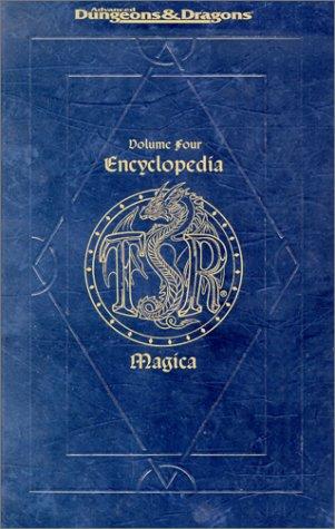 9780786902897: Encyclopedia Magica: S-Z Vol 4 (Ad&d Accessory , Vol 4)