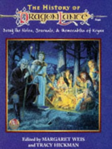 9780786903054: The History of Dragonlance: Being the Notes, Journals, and Memorabilia of Krynn (Dragonlance Setting)