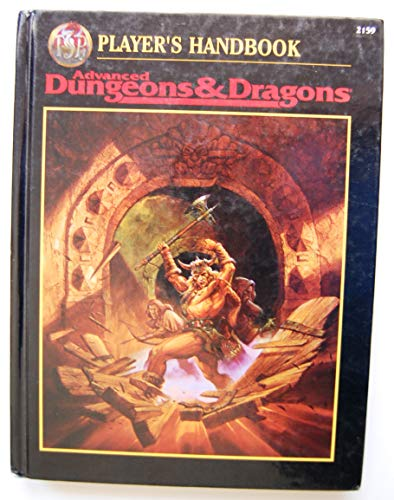 9780786903290: Players Handbook (Advanced Dungeons & Dragons)