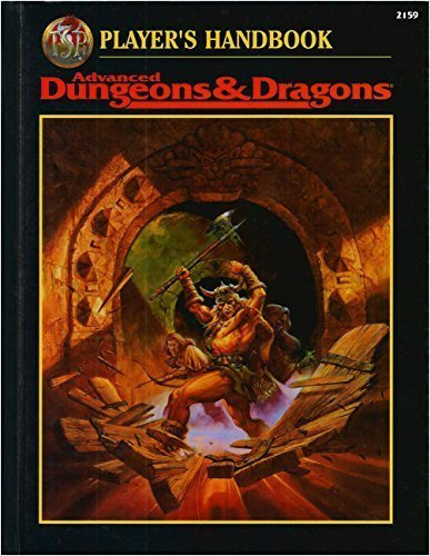 9780786903290: Player's Handbook Advanced Dungeons & Dragons (2nd Ed Fantasy Roleplaying)