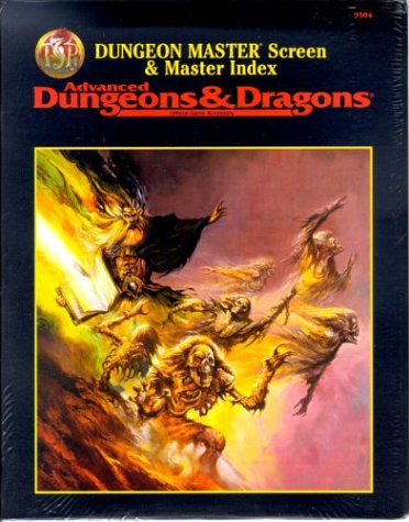 9780786903313: Dungeon Master Screen and Master Index
