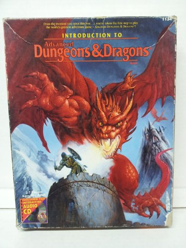 9780786903320: Introduction to the Advanced Dungeons and Dragons Game (Ad&d Audio)