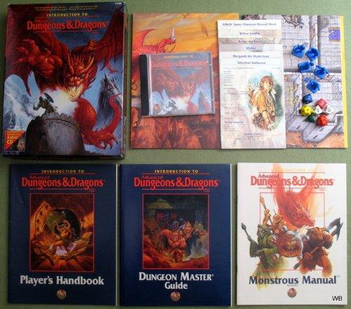 Introduction to Advanced Dungeons & Dragons Game: Nesmith, Bruce;Baker, Rich