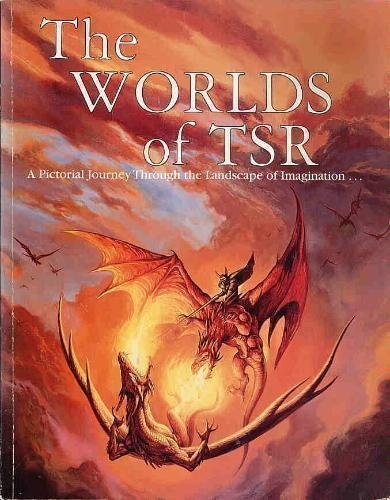 9780786903375: The Worlds of TSR: A Pictorial Journey Through the Landscape of Imagination