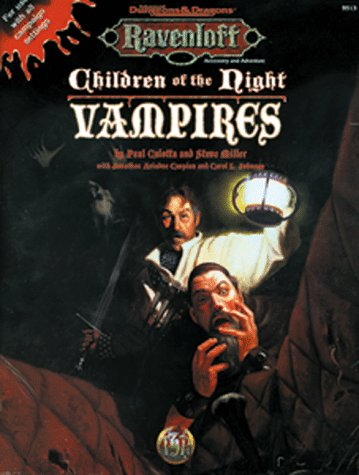 9780786903788: Children of the Night: Vampires (AD&D 2nd Ed Roleplaying, Ravenloft Accessory)