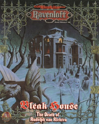 9780786903863: Bleak House: The Death of Rudolph Van Richten