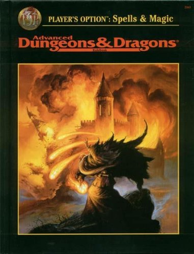 Player's Option: Spells and Magic (Advanced Dungeons & Dragons, First Printing, Rulebook&#...