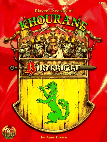 Player's Secrets of Khourane: Birthright: Domain Sourcebook (Advanced Dungeons & Dragons)