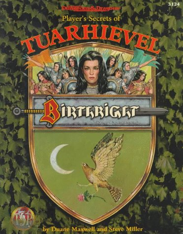 9780786903986: Player's Secrets of Tuarhievel (Advanced Dungeons & Dragons, 2nd Edition: Birthright, Domain Sourcebook/3124)
