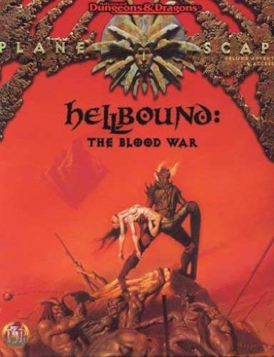 Hellbound: The Blood War (AD&D/Planescape) (0786904070) by Colin McComb; Monte Cook