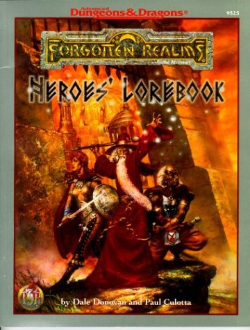 9780786904129: Heroes' Lorebook (Advanced Dungeons & Dragons: Forgotten Realms)