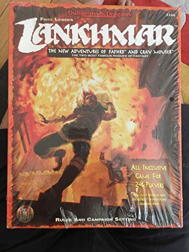Fritz Leiber's Lankhmar: the New Adventures