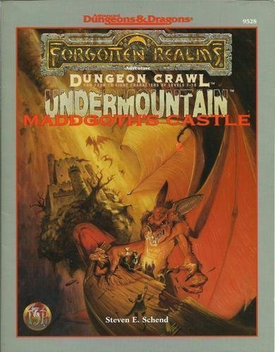 9780786904235: Maddgoth's Castle (Undermountain trilogy)