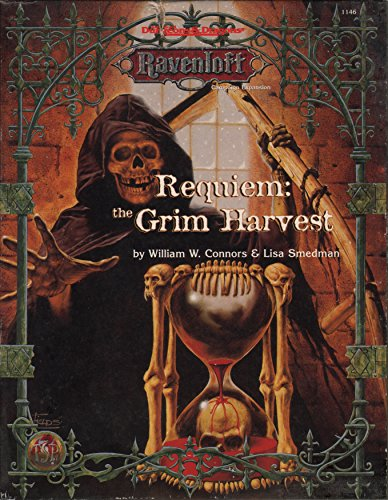 Requiem: The Grim Harvest (AD&D/Ravenloft) [BOX SET]: William Connors