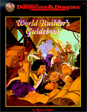 9780786904341: World Builder's Guide Book