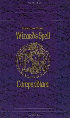 Wizard's Spell Compendium, Vol. 1 (Advanced Dungeons & Dragons): Jon Pickens; Mark ...