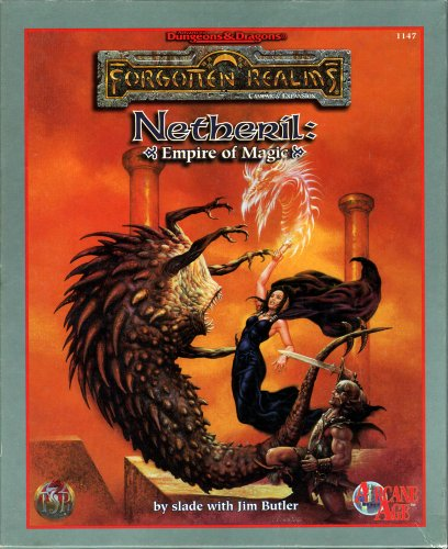 9780786904372: Netheril: Empire of Magic (Advanced Dungeons & Dragons / Forgotten Realms)