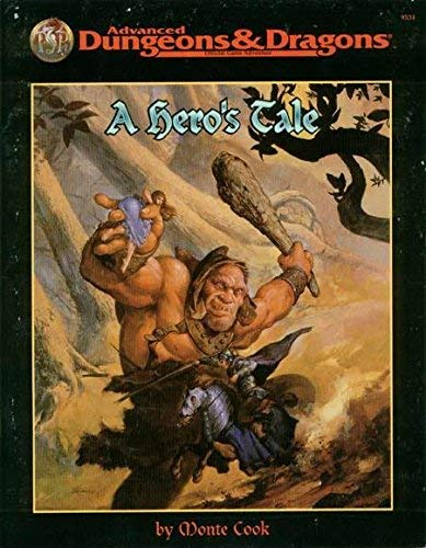 9780786904402: A Hero's Tale (Advance Dungeons & Dragons)