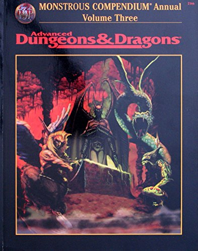 9780786904495: Annual Monstrous Compendium: Vol 3 (Advanced Dungeons & Dragons)