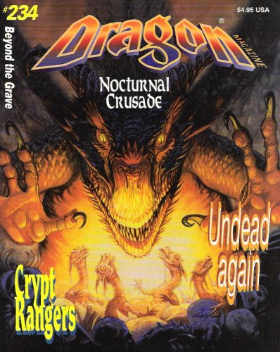 9780786905638: Dragon Magazine #234: Beyond the Grave: Nocturnal Crusade