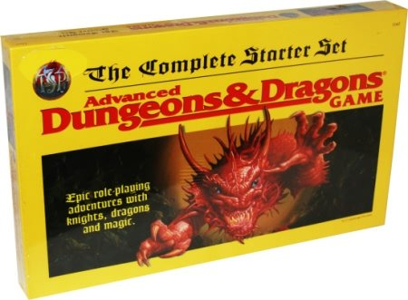9780786906406: Advanced Dungeons & Dragons: The Complete Starter Set TSR 1167
