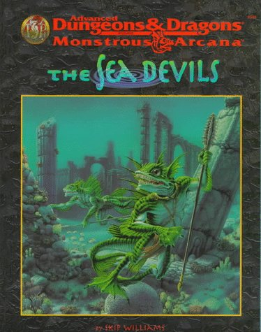 9780786906437: The Sea Devils (Advanced Dungeons & Dragons, 2nd Edition: Monstrous Arcana, Accessory/9539)